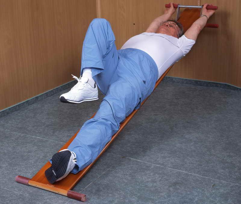 Упражнения с картинками при грыже позвоночника 5