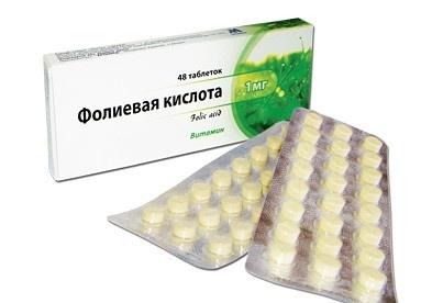 препарат с фолиевой кислотой и витамином е