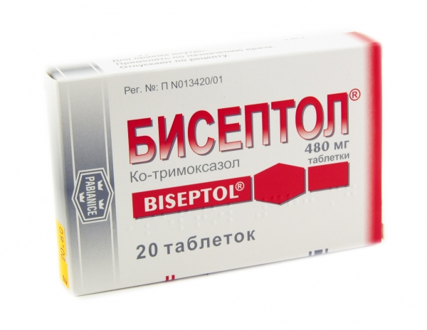 Бисептол при лечении простатита
