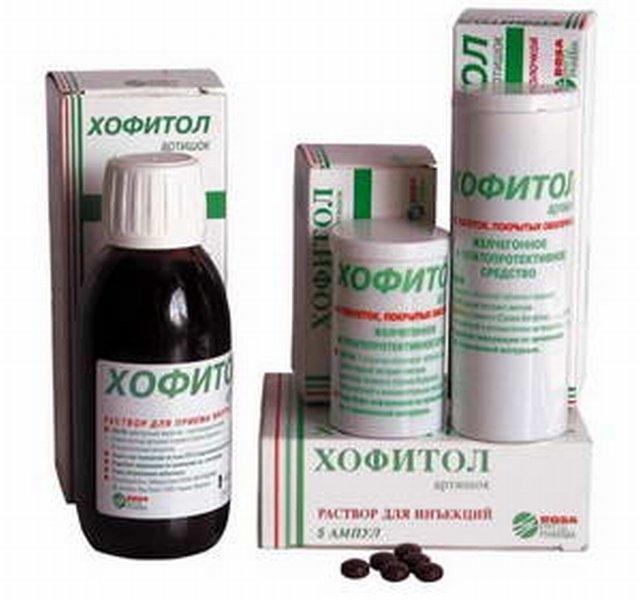Хофитол при гипертонии
